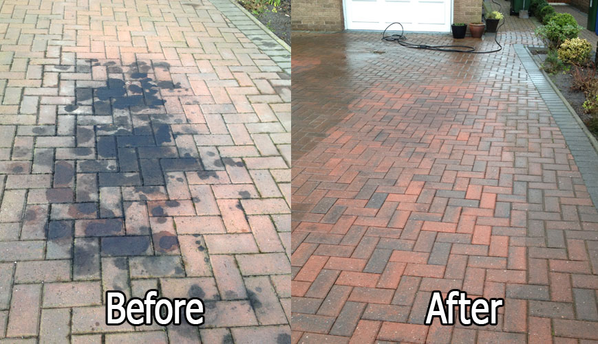 oil stain removal stockport
